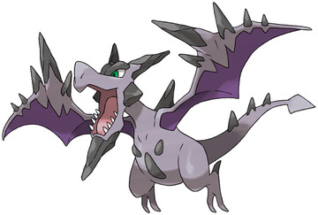 Mega Aerodactyl artwork by Ken Sugimori