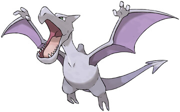 Aerodactyl artwork by Ken Sugimori