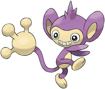 Aipom artwork by Ken Sugimori