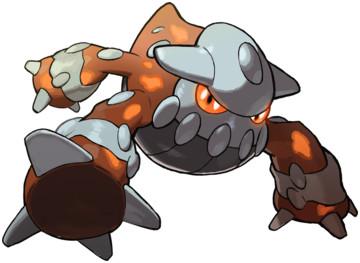 Heatran Other - Pokémon Legendary event