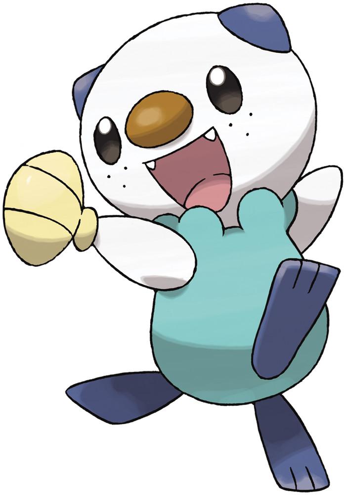 Oshawott official artwork gallery | Pokémon Database