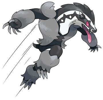 Obstagoon Other - Marketing Art