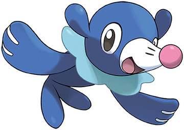 Popplio Sugimori artwork - Ultra Sun/Ultra Moon