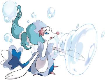 Primarina Sugimori artwork - Z-Move