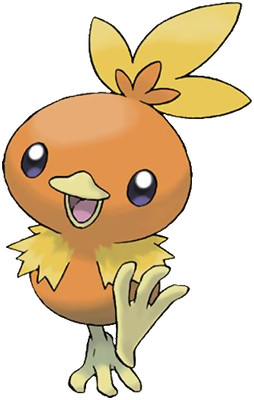 Torchic Sugimori artwork - Emerald