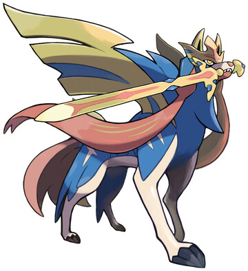 Zacian (Crowned Sword) Other - Box art