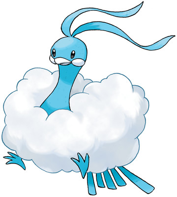 Altaria artwork by Ken Sugimori
