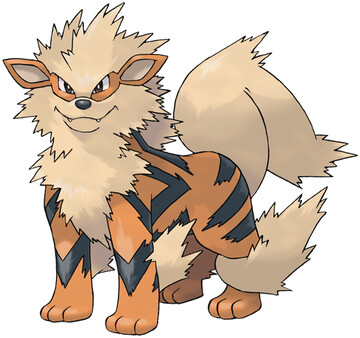 Arcanine artwork by Ken Sugimori