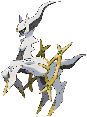 Arceus artwork by Ken Sugimori
