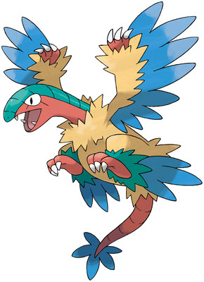 Archeops artwork by Ken Sugimori