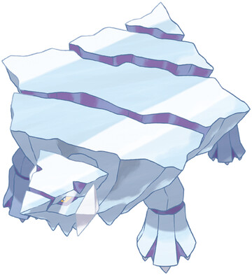 Avalugg artwork by Ken Sugimori
