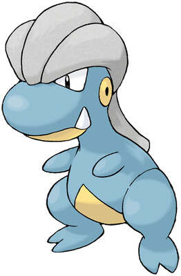 Bagon artwork by Ken Sugimori