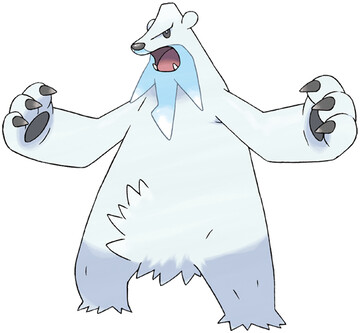 Beartic artwork by Ken Sugimori