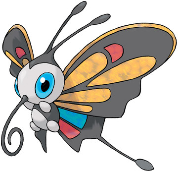 Beautifly artwork by Ken Sugimori