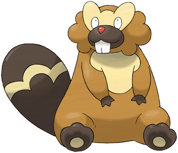 Bibarel artwork by Ken Sugimori
