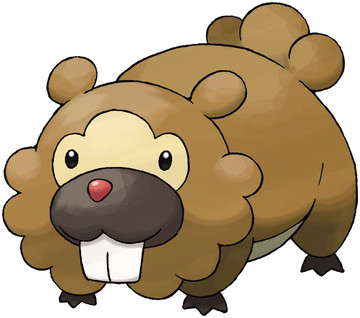 Bidoof artwork by Ken Sugimori