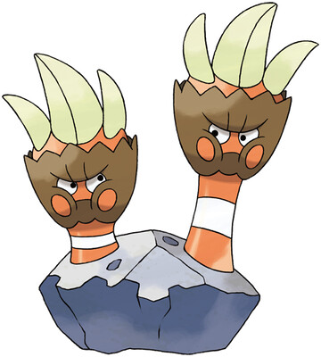 Binacle artwork by Ken Sugimori