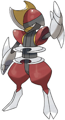 Bisharp artwork by Ken Sugimori