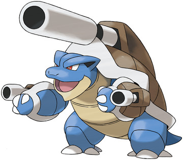 Mega Blastoise artwork by Ken Sugimori