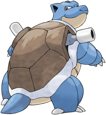 Blastoise artwork by Ken Sugimori
