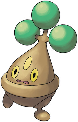 Bonsly artwork by Ken Sugimori