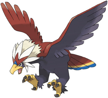 Braviary artwork by Ken Sugimori