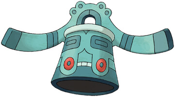 Bronzong artwork by Ken Sugimori