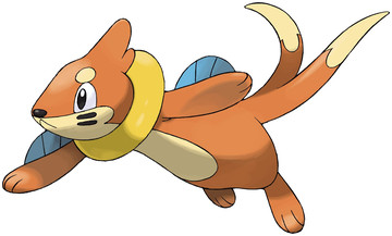 Buizel artwork by Ken Sugimori