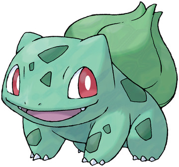 Bulbasaur artwork by Ken Sugimori