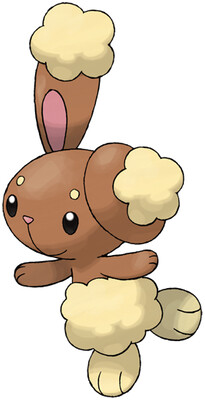 Buneary artwork by Ken Sugimori