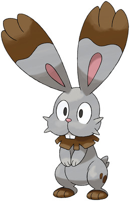 Bunnelby artwork by Ken Sugimori