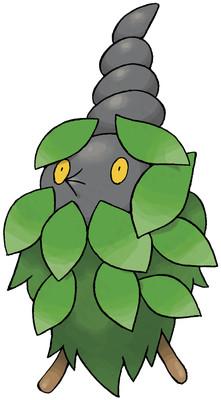 Burmy - Plant Cloak Sugimori artwork