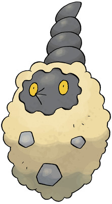 Burmy - Sandy Cloak Sugimori artwork