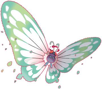 Butterfree Sugimori artwork