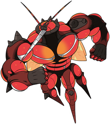 Buzzwole artwork by Ken Sugimori