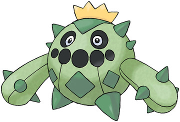 Cacnea artwork by Ken Sugimori