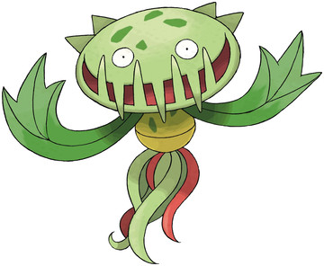 Carnivine artwork by Ken Sugimori