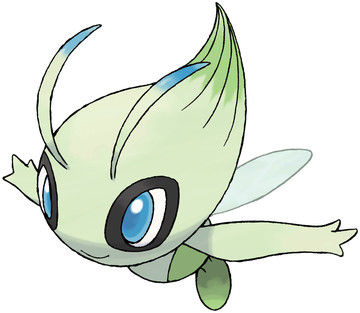 Celebi artwork by Ken Sugimori