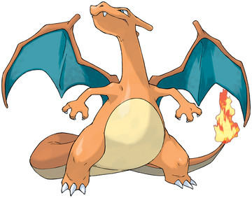 Charizard artwork by Ken Sugimori