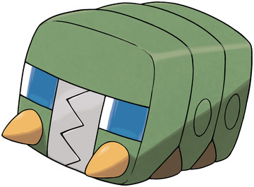 Charjabug artwork by Ken Sugimori