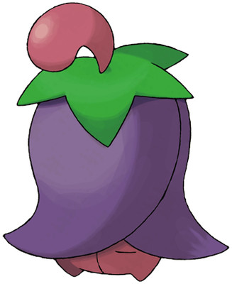 Cherrim artwork by Ken Sugimori