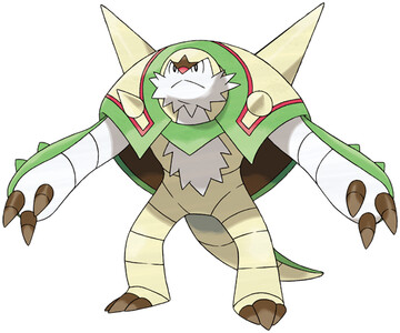 Chesnaught artwork by Ken Sugimori