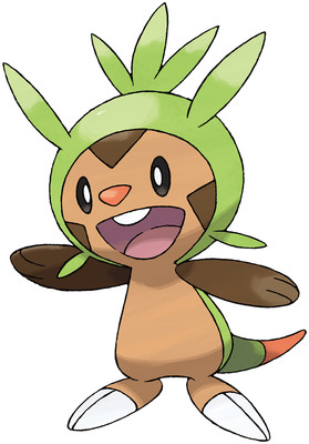 Chespin Sugimori artwork