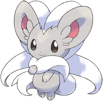 Cinccino artwork by Ken Sugimori