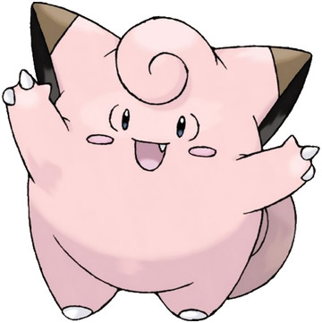 Clefairy artwork by Ken Sugimori