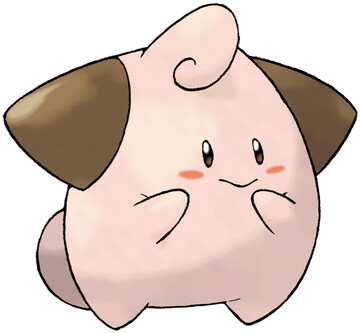 Cleffa artwork by Ken Sugimori