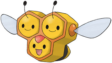 Combee artwork by Ken Sugimori