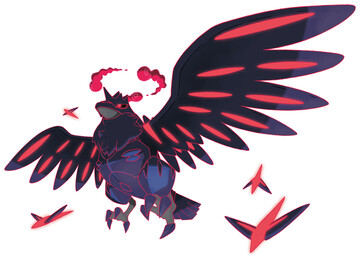 Corviknight - Gigantamax Sugimori artwork