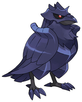 Corviknight Sugimori artwork