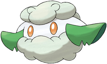 Cottonee artwork by Ken Sugimori